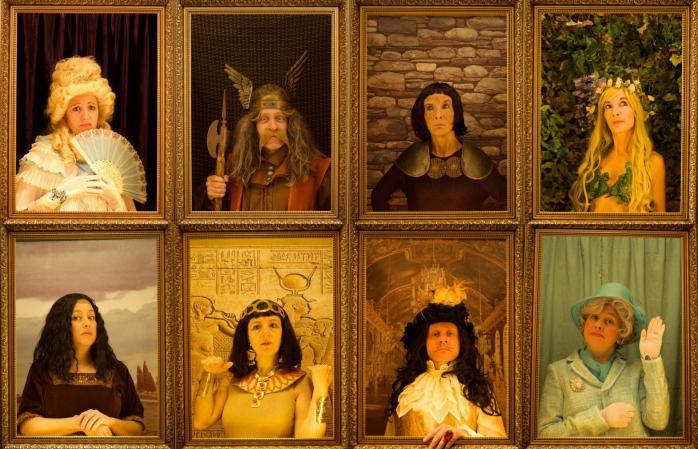 8 portraits cadre