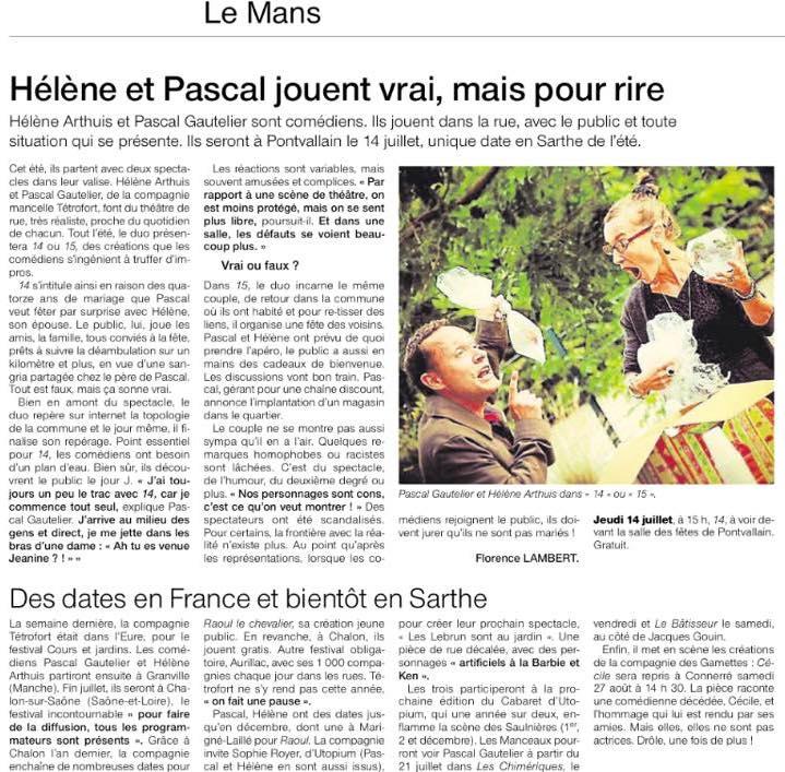 Presse 15 tetrofort ouest france